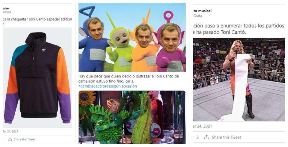 Los memes de Toni Cantó y su paso al PP 10
