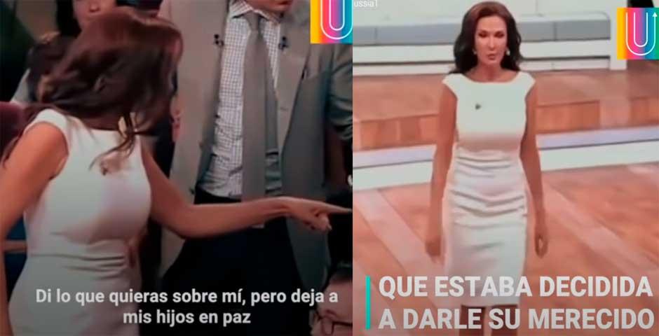 Actriz pega a una mujer del público en un programa de televisión 8