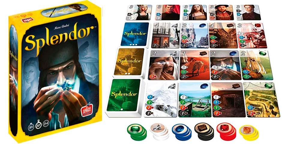 Splendor, un divertido juego de mesa que no debes perderte 2