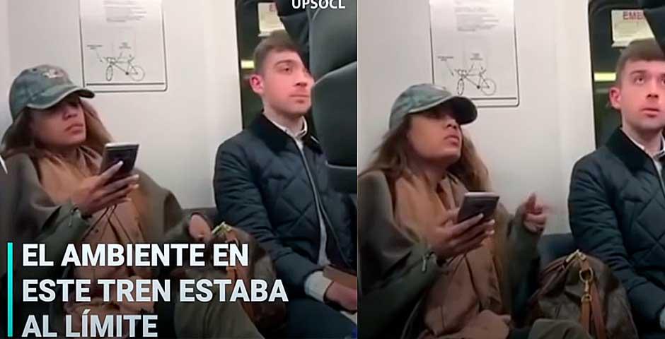 ¿Por qué hombres insultan a mujer sola en el tren? 3