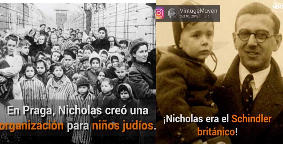 La increíble historia de Nicholas Winton, que salvó a 669 niños de la muerte 2
