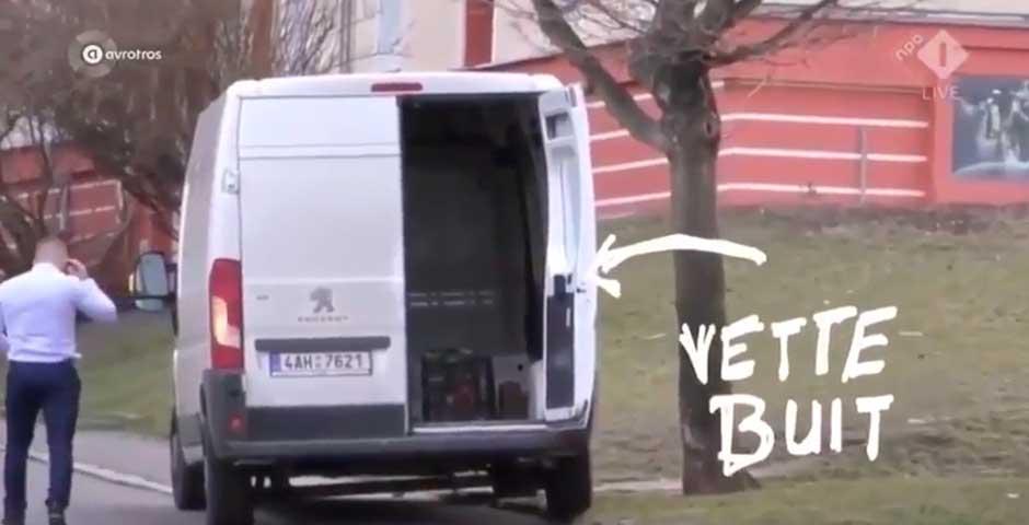 Deja una furgoneta trampa para trolear a los ladrones y esto es lo que ocurre 4