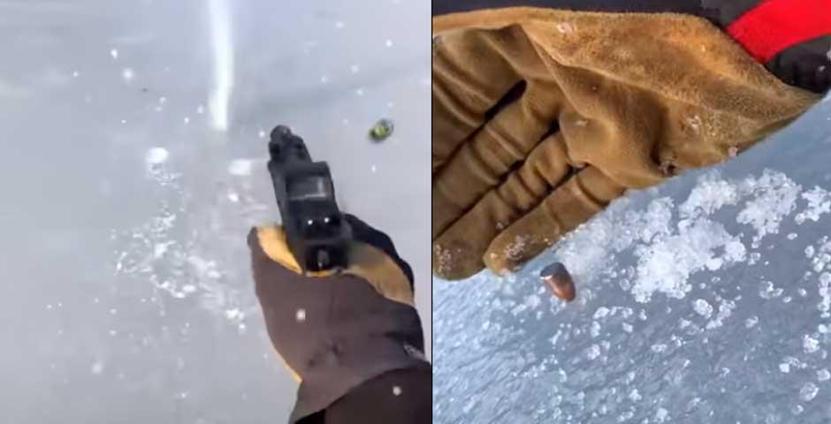 ¿Qué ocurre si disparas al hielo? 3