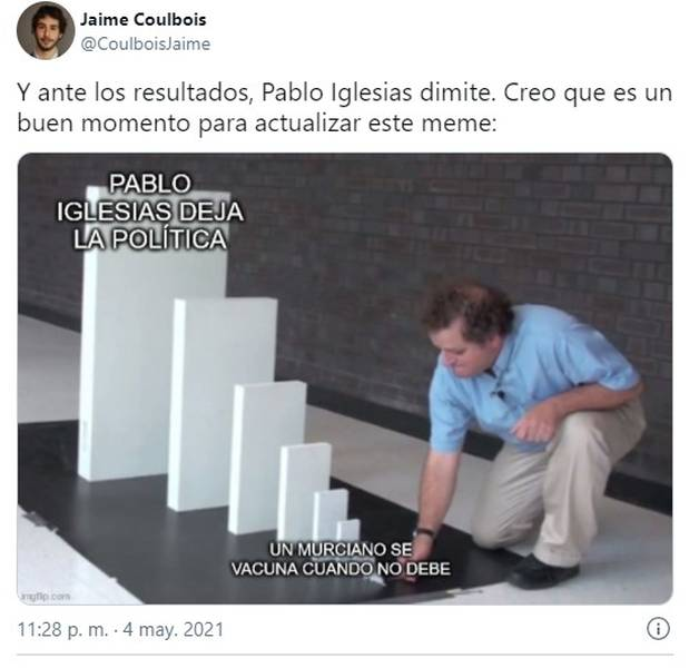 Los memes de las elecciones de Madrid, no te los pierdas 5