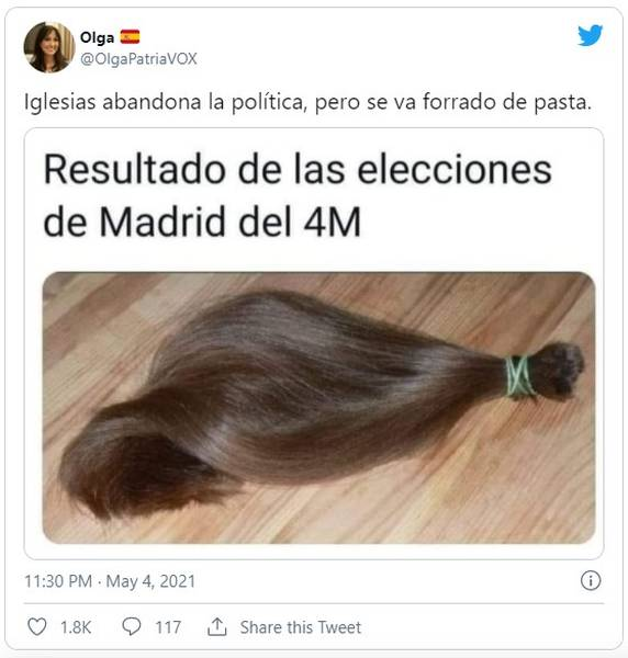 Los memes de las elecciones de Madrid, no te los pierdas 9