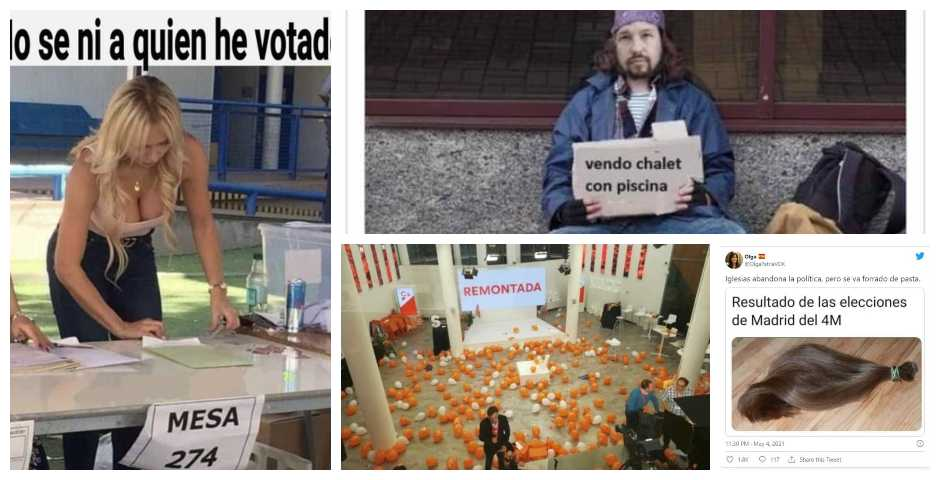 Los memes de las elecciones de Madrid, no te los pierdas 7