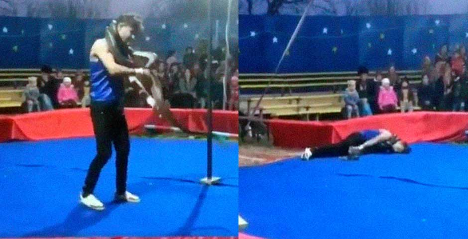 Escalofriante vídeo grabado en un circo Ruso 6