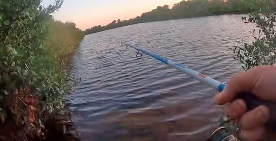 Menuda sorpresa se lleva este pescador 7