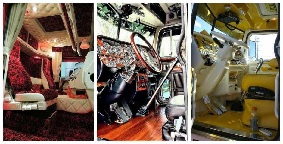 19 Sorprendentes cabinas de camiones 3