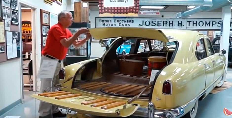 Sorprendente todos estos inventos que incorporaban los coches clásicos 1