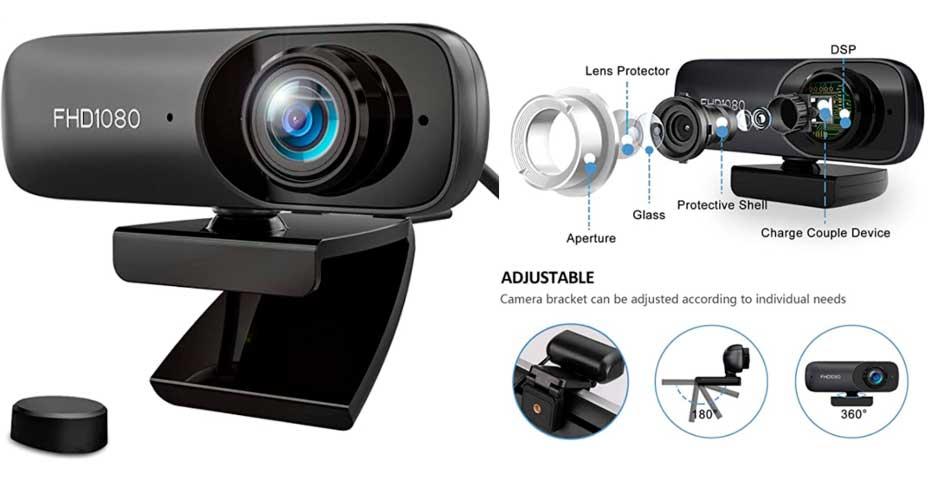 Oferta del día: Webcam FullHD por 10,99 4
