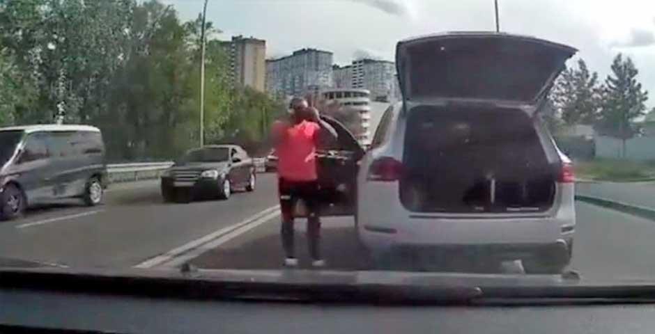 Toca el claxon a otro conductor y te va a sorprender lo que ocurre 1