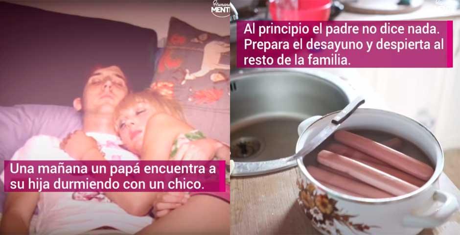 Padre sorprende a su hija durmiendo con un chico y lo que ocurre te va a dejar con la boca abierta 8