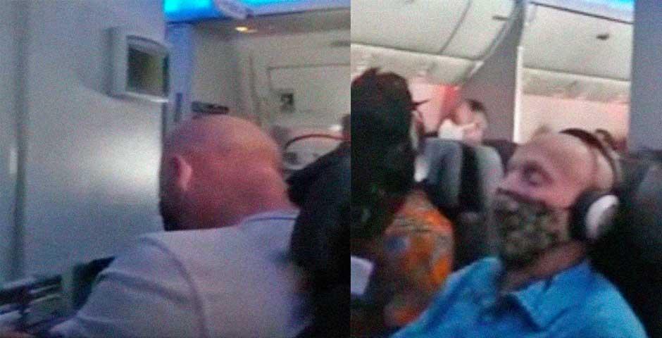 Esta mujer esta teletrabajando en el avión y te va a sorprender cuando lo veas 7