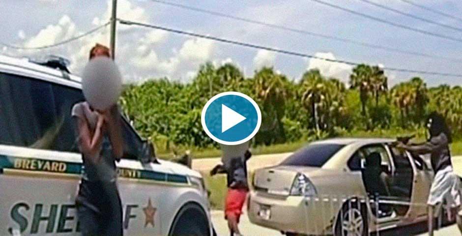 Policías de Florida son tiroteados en un control de tráfico 4
