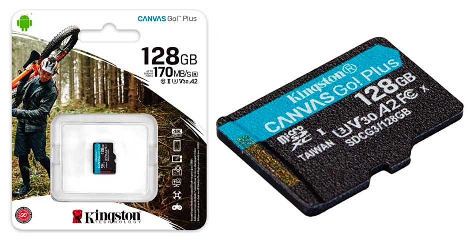 Oferta del día: Tarjeta MicroSD de 128Gb a 12,99€ 4