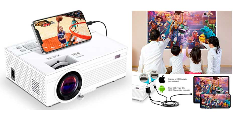 Pon un cine en tú casa por 60€ gracias a este proyector en oferta 2